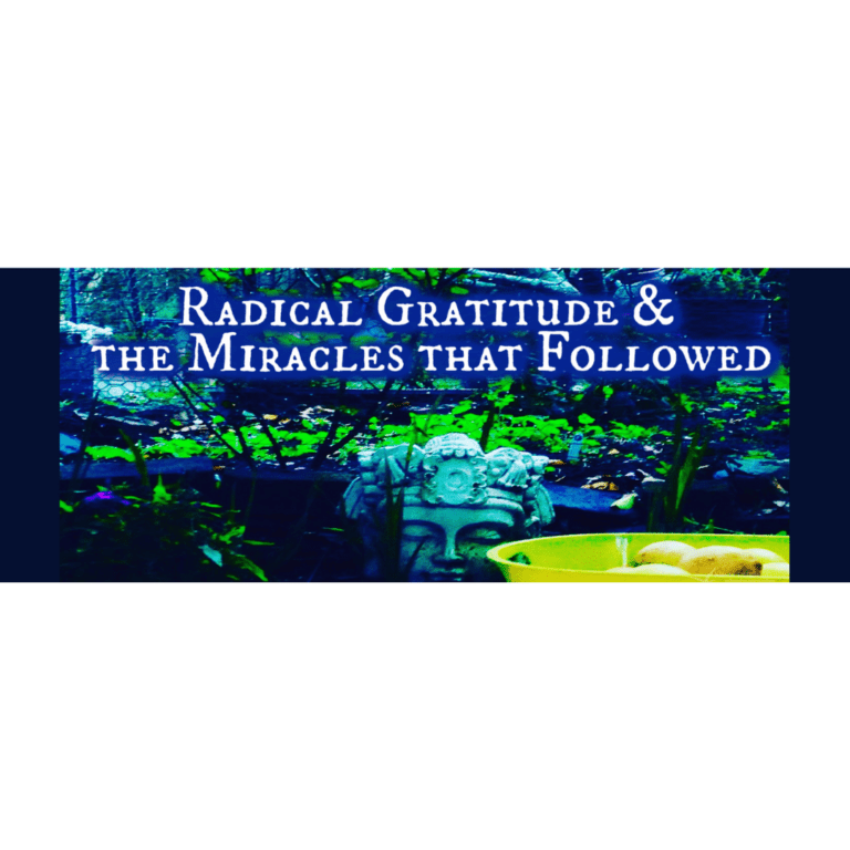 Radical Gratitude & The Miracles That Followed